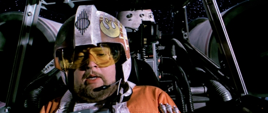 "This picture of Jek Porkins has nothing to do with what I'm talking about, but his sacrifice cannot go unnoticed. ""I can hold it!"" Turns out you couldn't, but you now hold all of our hearts."
