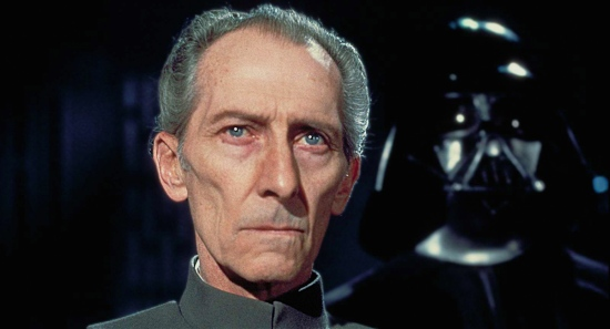 Grand Moff Tarkin. It is sad this is the only movie he is in.
