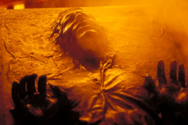 Han getting frozen in carbonite scared the shit out of me as a child