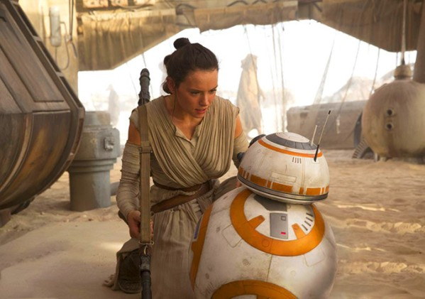 I really hope the sudden fame doesn't cause Daisy Ridley to lose her mind and go off the deep end and totally derail this series. Same with BB-8. It would be a shame to lose that little dude.