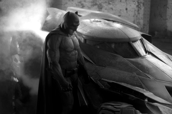 People wondered why Batman looks so sad here. Turns out everybody is sad in this movie.