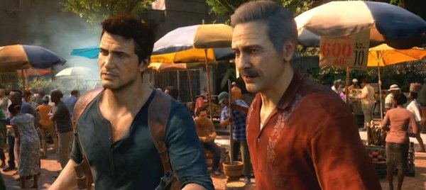 Best part of Uncharted on PS4: Sully's mustache looks better than ever