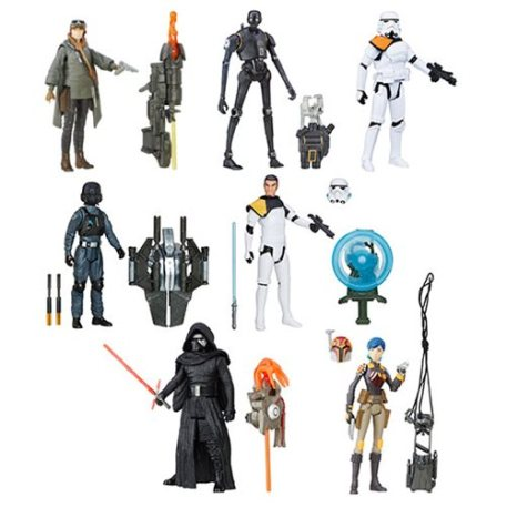 Some of the figures going on sale. These are the pieces of plastic some dedicate their lives to. I'm not dedicating my life to this stuff, but people are.