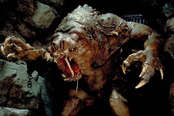 Ralph owned multiple Rancor figures. It was impressive. Most impressive.